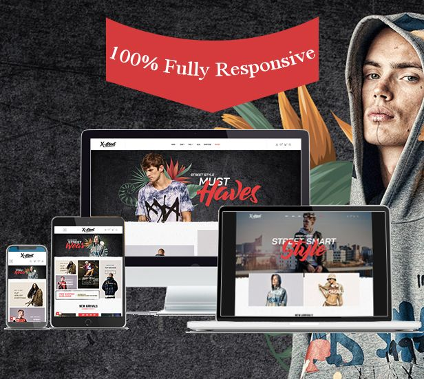fully responsive & mobile Optimized
