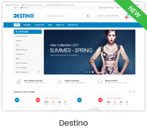 Destino - Premium Responsive Magento Theme with Mobile-Specific Layouts - 10