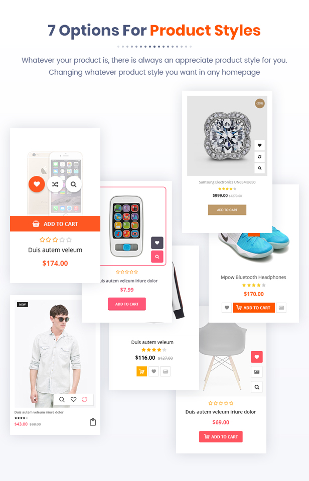 Best Magento 2 Themese - product style