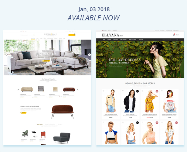 Fastest - Magento 2.2.2 themes & Magento 1. Multipurpose Responsive Theme (16 Home) Shopping,Fashion