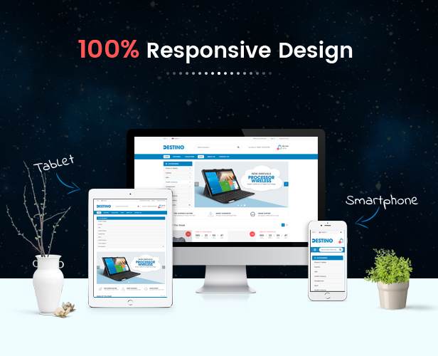 Destino - Fully Responsive