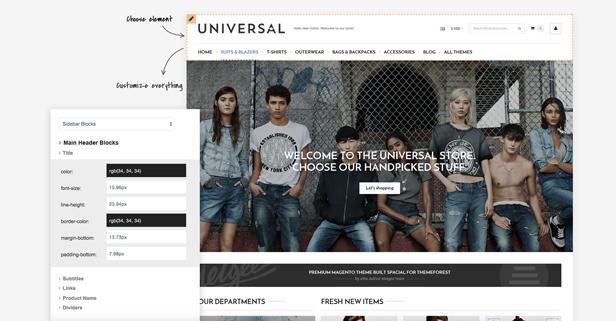 Universal - Multi-Purpose Responsive Magento 2.2 and Magento 1 Theme - 9