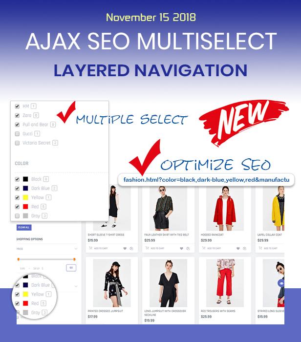 Ajax SEO Multiple Layered Navigation