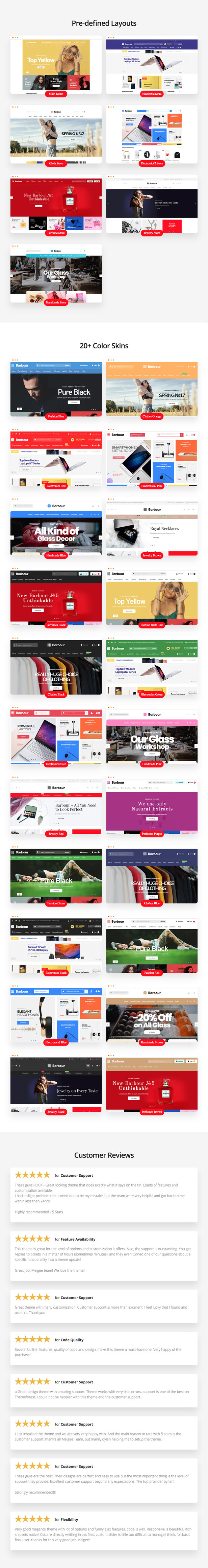 Barbour - Multi-Purpose Responsive Magento 2 and Magento 1 Theme - 6