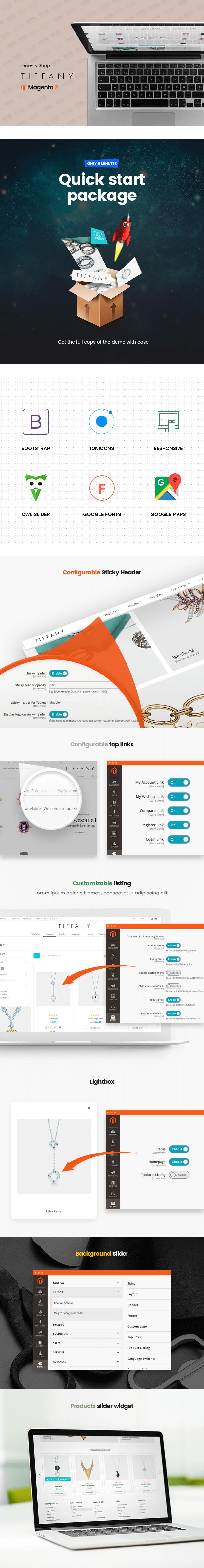 Tiffany - Jewelry Magento 2 and Magento 1 Theme - 3