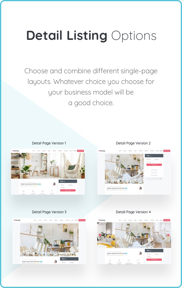 Homey - Booking and Rentals WordPress Theme - 19