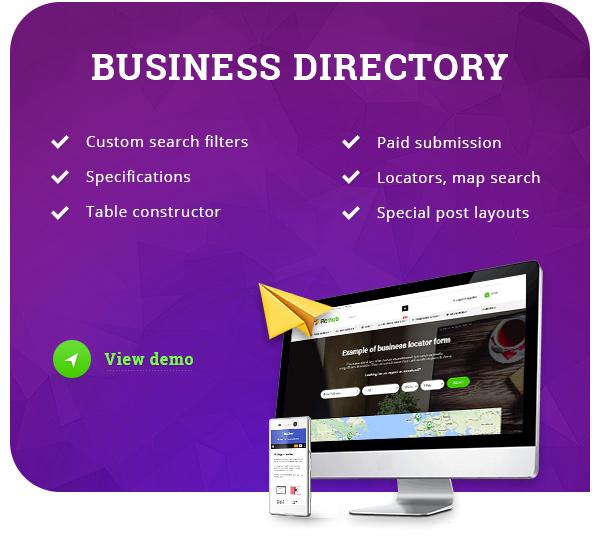Directory theme wordpress