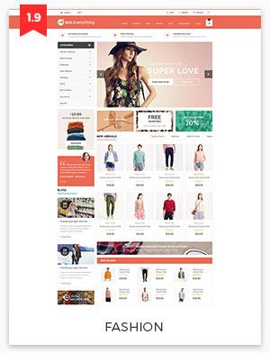 fashion magento theme 1.9