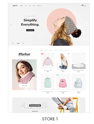 fashion store Prestashop theme