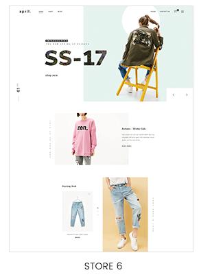 minimalist fashion store