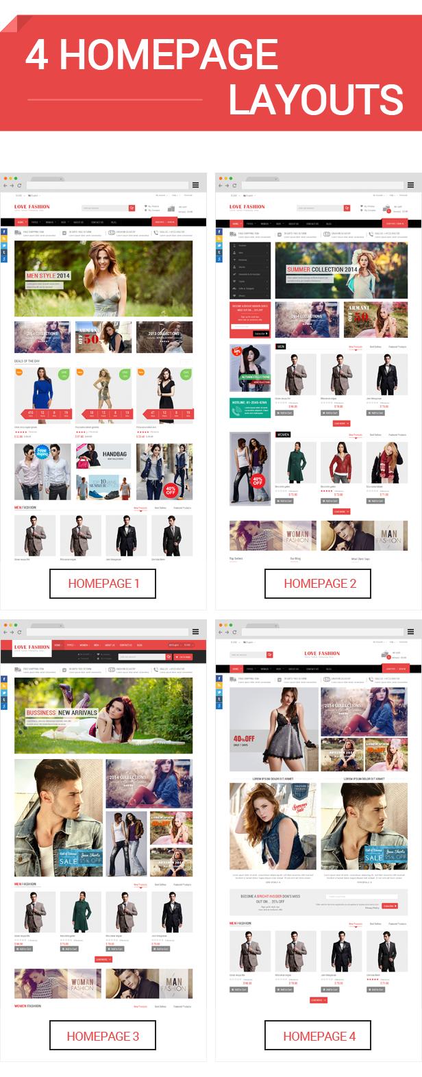 Love Fashion - Homepage