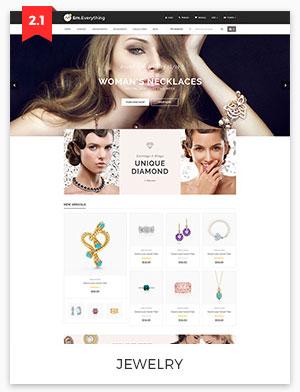jewelry magento theme 2.2
