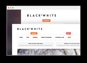 Black&White - Responsive Magento 2.2.x  Theme - 35