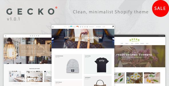 Gecko - Responsive Shopify Theme - Fashion Shopify