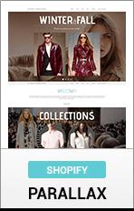 Shopify Parallax