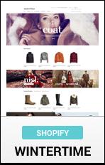 Shopify WinterTime