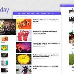 Download NetToday - Newspaper & Magazine Joomla Template
