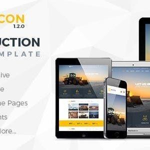 Download WICON | Construction & Building Joomla Template