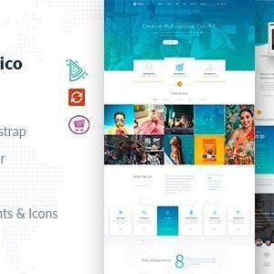 Download Futurico - Multipurpose Joomla Template