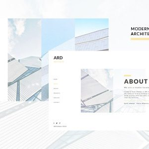 Download ARD - Architect | Builder Minimal Joomla Template