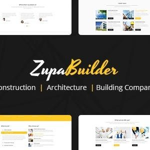 Download ZupaBuilder – Building and Architectural Joomla Template