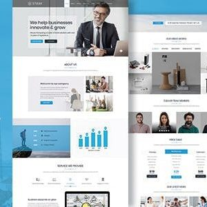 Download Stray - One Page Business Joomla Template