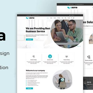 Download Sasna - Multipurpose Business Joomla Template