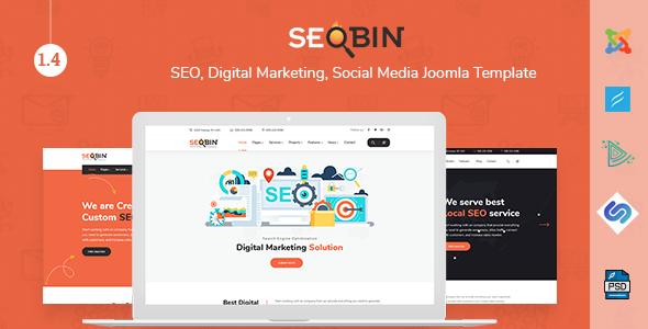 Download SeoBin | SEO and Digital Marketing Business Joomla Template