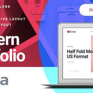 Download Krea - Modern Portfolio One Page Joomla Template