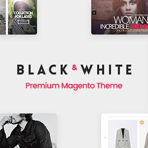 Download Black&White - Responsive Magento 2.2.x  Theme