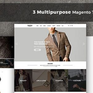 Download Tizzy - Multipurpose Responsive Magento2 Theme | Fashion Store | Watch Store | Cosmetic & Bag Store