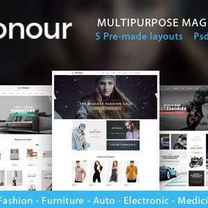 Download Honour - Multipurpose Responsive Magento2 Theme | Fashion Furniture Auto & Electronics & Medicine