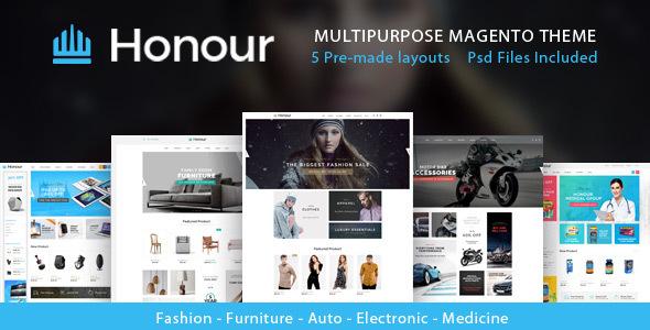 Download Honour - Multipurpose Responsive Magento2 Theme | Fashion Furniture Auto & Electronics & Medicine