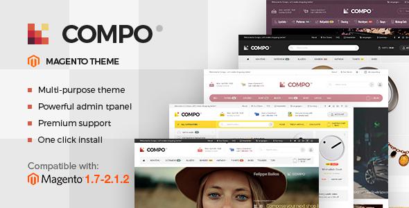 Download Compo - Multi-Purpose Responsive Magento 2 Theme