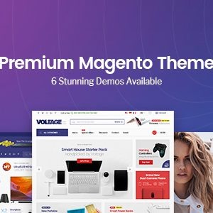 Download Voltage - Multi-Purpose Responsive Magento 2 Theme