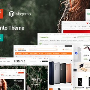 Download Versatile - Multi-Purpose Responsive Magento 2 Theme