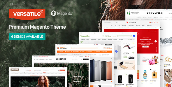 Download Versatile - Multi-Purpose Responsive Magento 2 Theme