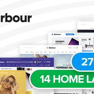 Download Barbour - Multi-Purpose Responsive Magento 2 Theme