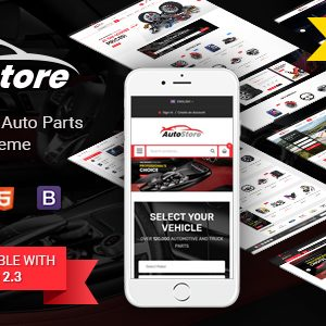 Download AutoStore - Auto Parts and Equipments Magento 2 Theme with Ajax Attributes Search Module