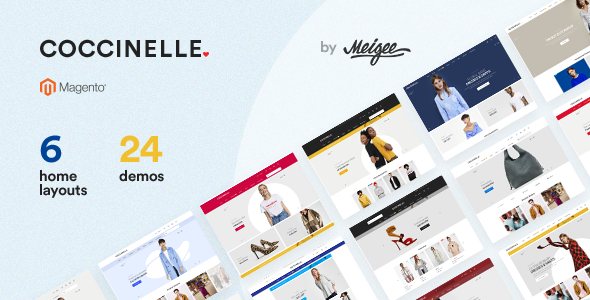Download Coccinelle - Multi-Purpose Responsive Magento 2 Theme