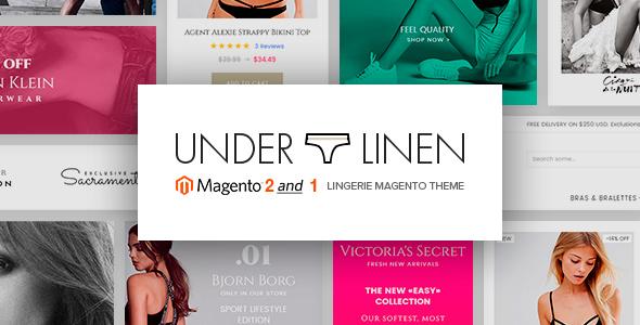 Download Underlinen - Lingerie Magento 2 Theme
