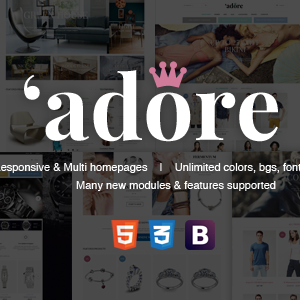 Download Adore | Luxury Store Responsive Magento Theme