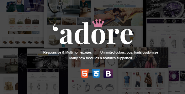 Download Adore | Luxury Store Responsive Magento Theme
