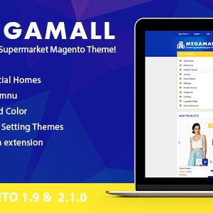 Download MegaMall - Creative Shopping Center Magento Theme