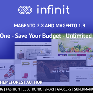 Download Infinit - magento 2 & magento 1 theme