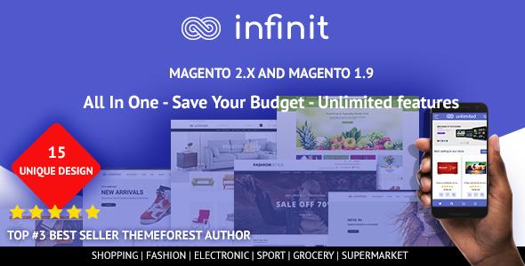 Download Infinit - magento 2 & magento 1 theme