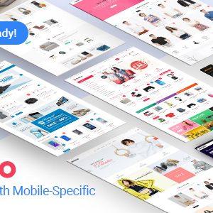Download Destino - Premium Responsive Magento Theme with Mobile-Specific Layouts