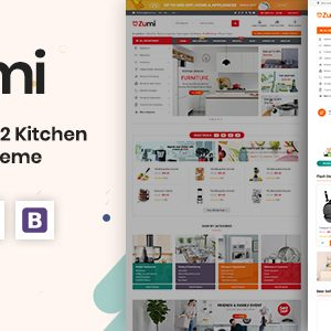 Download Zumi - Flexible and Modern Kitchen Appliance Magento 2 Theme