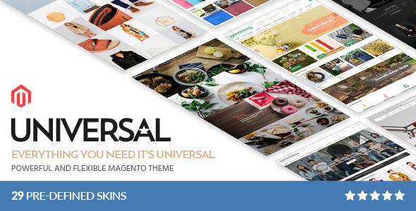 Download Universal - Multi-Purpose Responsive Magento 2.2 Theme