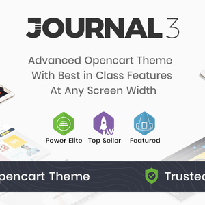 Download Journal - Advanced Opencart Theme